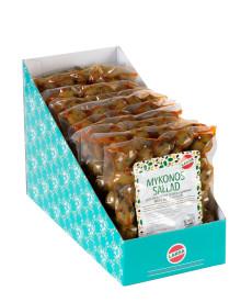 Nyhet! Larsa Foods nylanserar grekiska oliver i praktisk vakuumförpackning á 250 g.