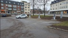 Nya laddplatser för elbilar i Katrineholm