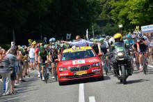 ŠKODA glæder sig til Tour de France-start i Danmark