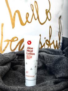 Massage + Aloe Heat Lotion = ♥
