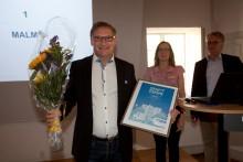 Malmö är bäst i Sverige på hållbara transporter