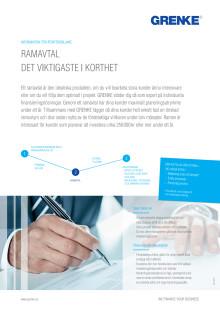 Finansiellt Ramavtal från GRENKE