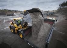Bättre produktivitet och lönsamhet för Volvos hjullastare med nya, anpassade skopor