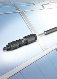 SUNCLIX - Solenergikontakter för kraftigare kabelarea