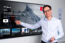 Jérôme Franck-Sætervoll ny toppsjef hos RiksTV