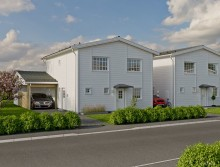 Myresjöhus bygger nya hus i Gammelstad, Luleå