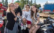 Alla dagar är barnens dag på Stora Nolia – pysselkoja och motorcyklar populära