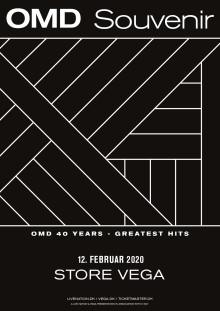 Orchestral Manoeuvres In The Dark (OMD) fejrer 40-års jubilæum med koncert i Store VEGA 12. februar 2020