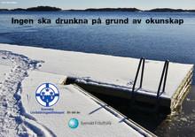 Svenska Livräddningssällskapet sprider kunskap om issäkerhet och utvecklar sommarsimskolan för ett säkrare friluftsliv