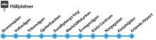 Förändringar på Brommaplanslinjen ska göra tidtabellen mer pålitlig
