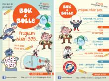 Velkommen til Bok & bolle våren 2013