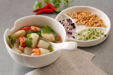 Rezept: Asia-Spargelsuppe mit Matcha
