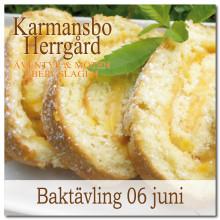 Baktävling på Karmansbo Herrgård 06 juni