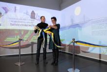 Mattias Klum invigde nytt spel om hur vi räddar haven