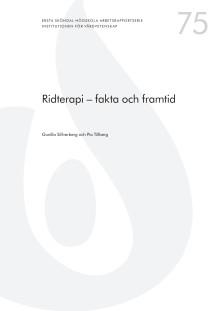 Ridterapi - rapport