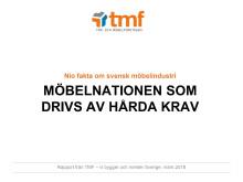Möbelnationen som drivs av hårda krav - nio fakta om svensk möbelindustri