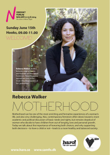 Motherhood - Rebecca Walker at Nordic Forum 2014