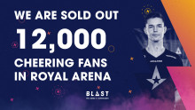 BLAST Pro Series Copenhagen sold out for the third time in a row