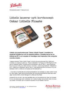 Lithells lanserar nytt korvkoncept: Oskar Lithells Finaste