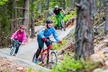 Trysil åpnet sykkelstier i verdensklasse