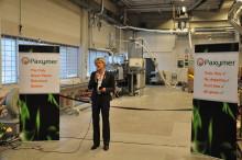 Den första gröna flamskyddssystemfabriken i världens första miljöhuvudstad i Europa