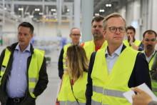 Derome och Blooc träffar Närings- och innovationsminister Mikael Damberg