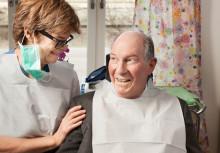 Fortsatt arbete för äldres munhälsa
