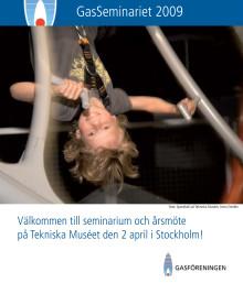 Program och inbjudan till Gasseminariet 2009