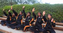 Magasinet Stylist hyllar Sightsavers judogrupper för blinda i Indien