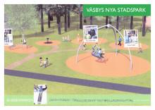 Så blir Väsbys nya stadspark