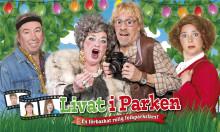 """Succéföreställningen från Vallarna """"Livat i Parken"""" på turné våren 2014 med Stefan Gerhardsson, Siw Carlsson, Jojje Jönsson m.fl."""