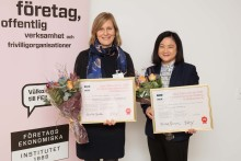 Oskar Sillén-priset 2017: Grattis Caroline Teh och Anna Pfeiffer!
