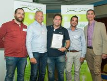 Storslam för Vellinge i årets Ekomatsliga - diplomerades av Sébastien Boudet och Polarbröd