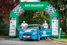 Ford Fiesta und Ford Ranger: Kraftstoffsparende Fahrweise und effiziente Motoren sorgen für drei neue Spritspar-Rekorde