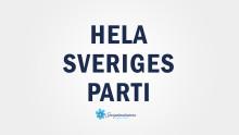 Jimmie Åkesson presenterade ny kampanj när han talade i Stockholm