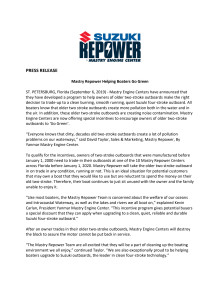 Mastry Repower Helping Boaters Go Green
