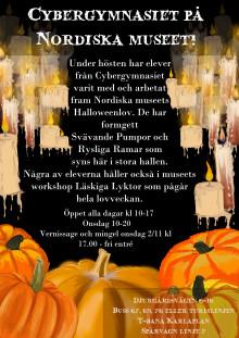 Svävande pumpor och Rysliga Ramar på Nordiska Muséet