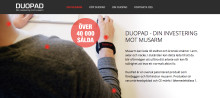 Celebration utvecklar DuoPads digitala närvaro