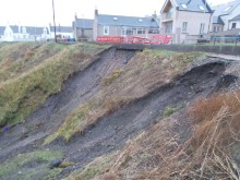 Portknockie residents get comfort following approval to spend £1.7m repairing landslips.