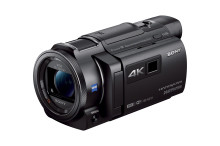 Capture every detail of your life in 4K* with compact new Handycam® from Sony