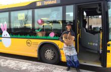 Omtyckt påskbuss i UL-trafiken