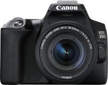 Canon lanserar EOS 250D, världens lättaste spegelreflexkamera med vinklingsbar skärm