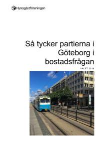 Så tycker politikerna i Göteborg i bostadsfrågan