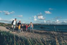 Dubbelt så många internationella besökare till Halland