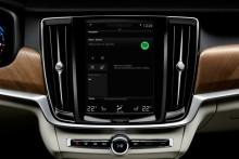 Volvo Cars släpper global integration av Spotify-strömning för nya modeller
