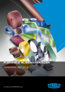 Tyrolit produktkatalog Fleksible slibematerialer 2013