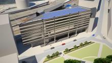 Idag påbörjas arbetet av Stockholms största hotell-solcellsanläggning!