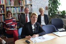 Bundesfamilienministerin Dr. Franziska Giffey ist jetzt Demenz Partner