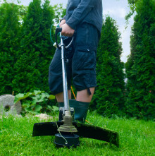 Elsäkert trädgårdsarbete