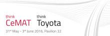 Toyota Material Handling på CeMAT 2016 - nytänkande inför framtiden